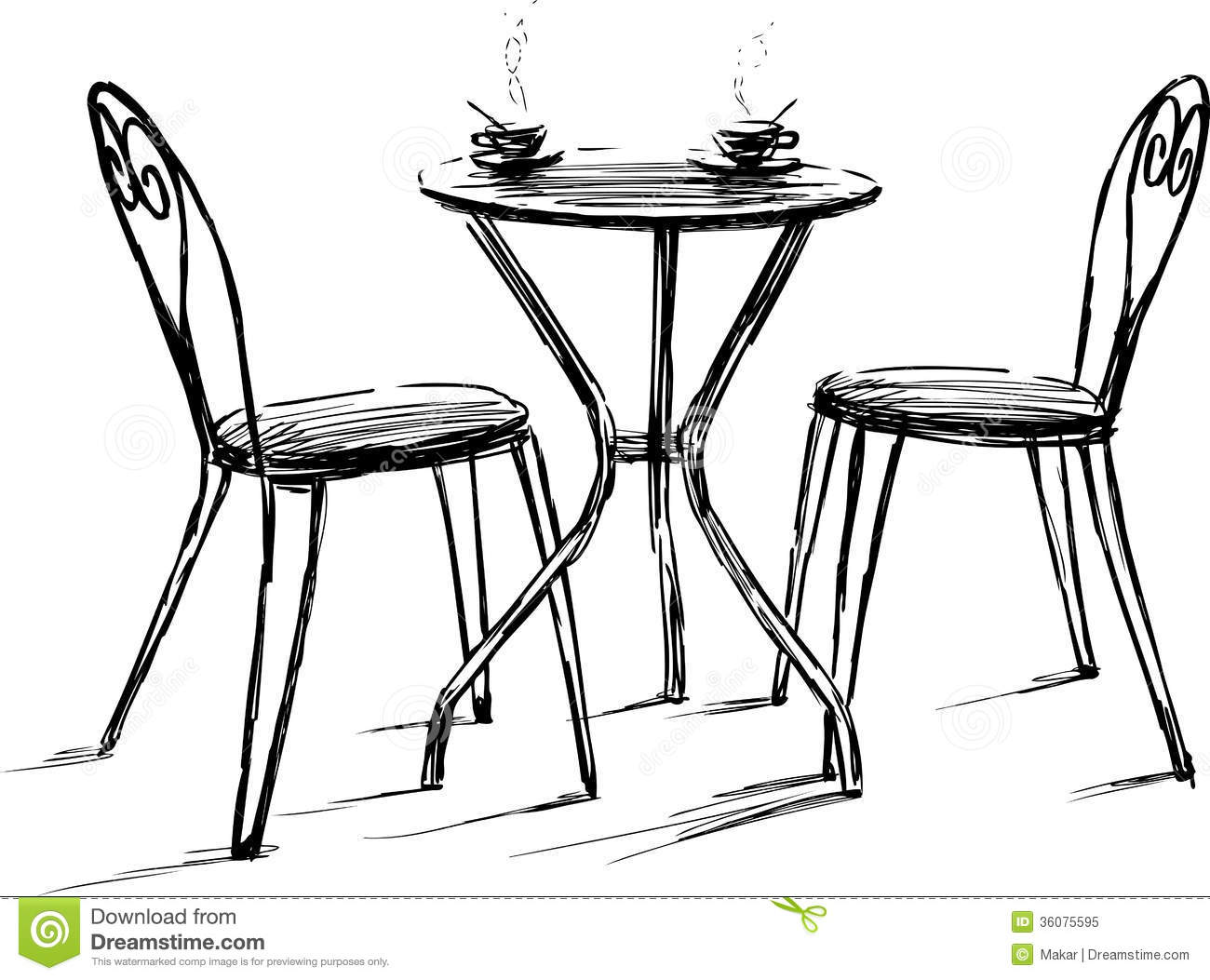 Bistro table clipart banner freeuse library Cafe Table Clipart Clipart Suggest, Cafe Table Clip Art - Brine banner freeuse library