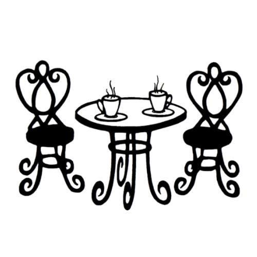 Bistro table clipart vector download Paris Bistro Tables Clipart - Clip Art Library vector download