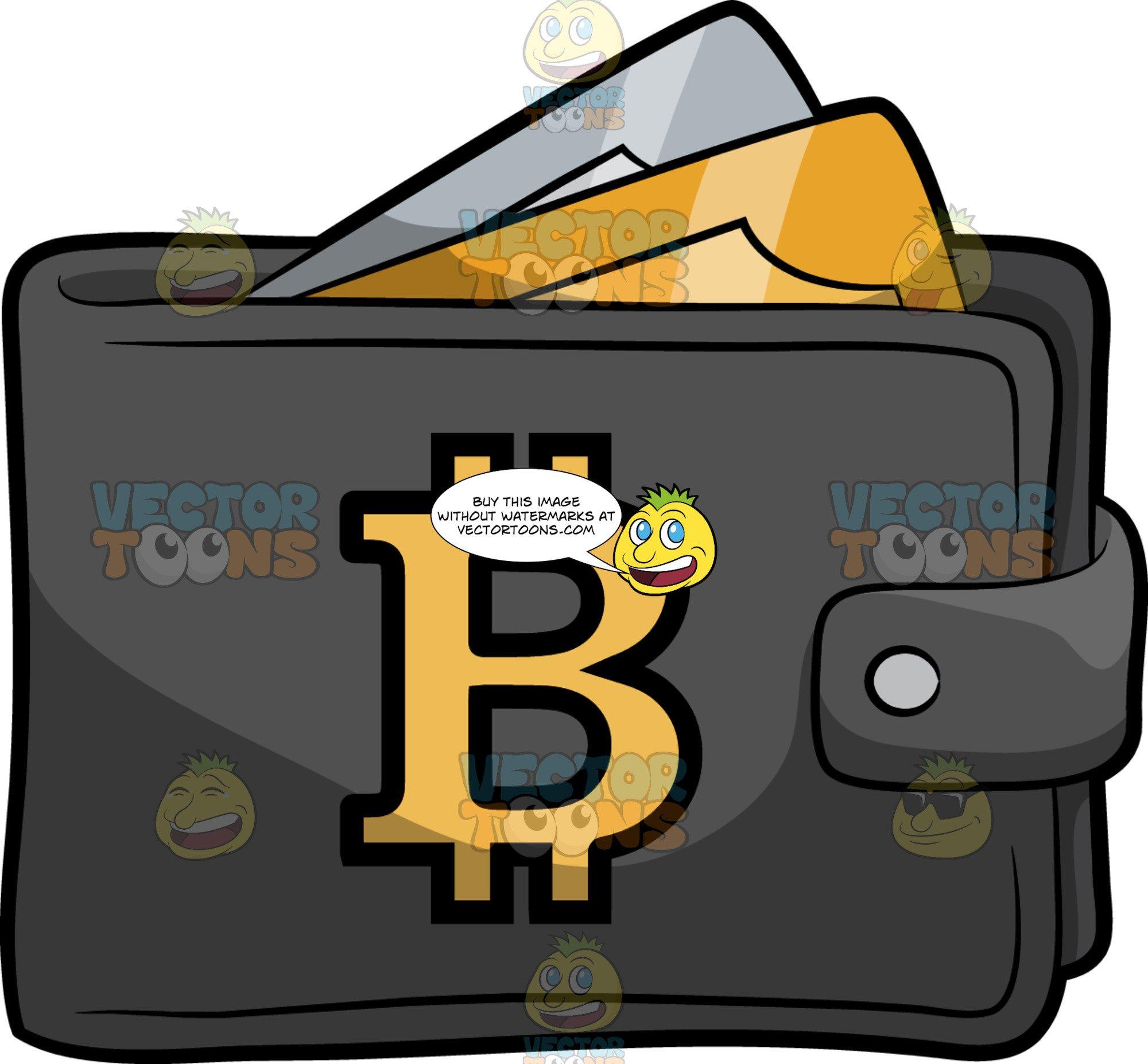 Bitcoin wallet clipart clip library A Bitcoin Wallet clip library