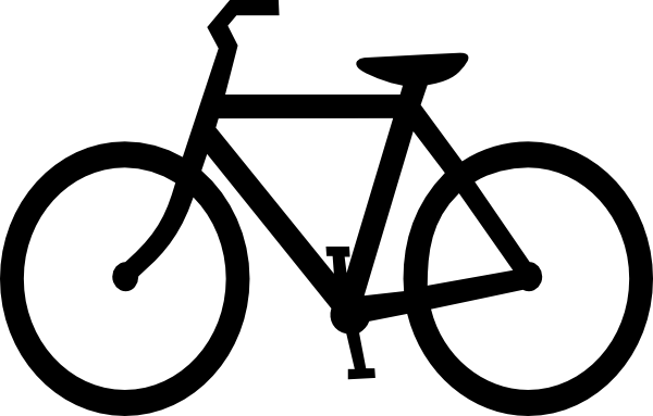 Bike clipart easy image black and white download Bike Clip Art at Clker.com - vector clip art online, royalty free ... image black and white download