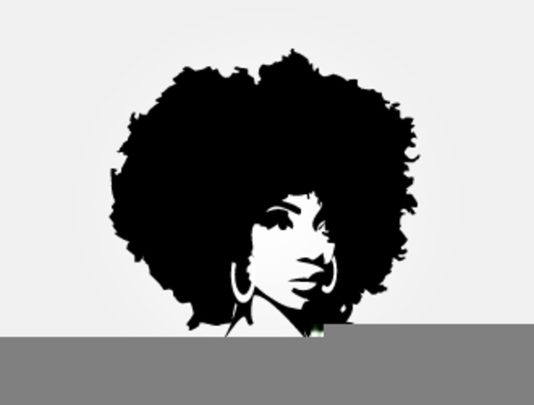 Black girl with afro clipart svg library stock Black Woman With Afro Clipart | Free Images at Clker.com - vector ... svg library stock