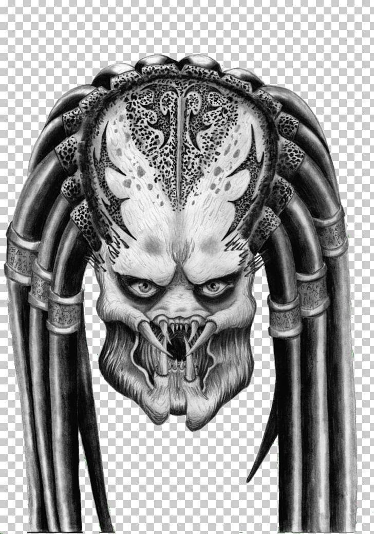 Black an white clipart of predator alien svg library Predator Alien Drawing PNG, Clipart, Alien, Alien Vs Predator, Art ... svg library