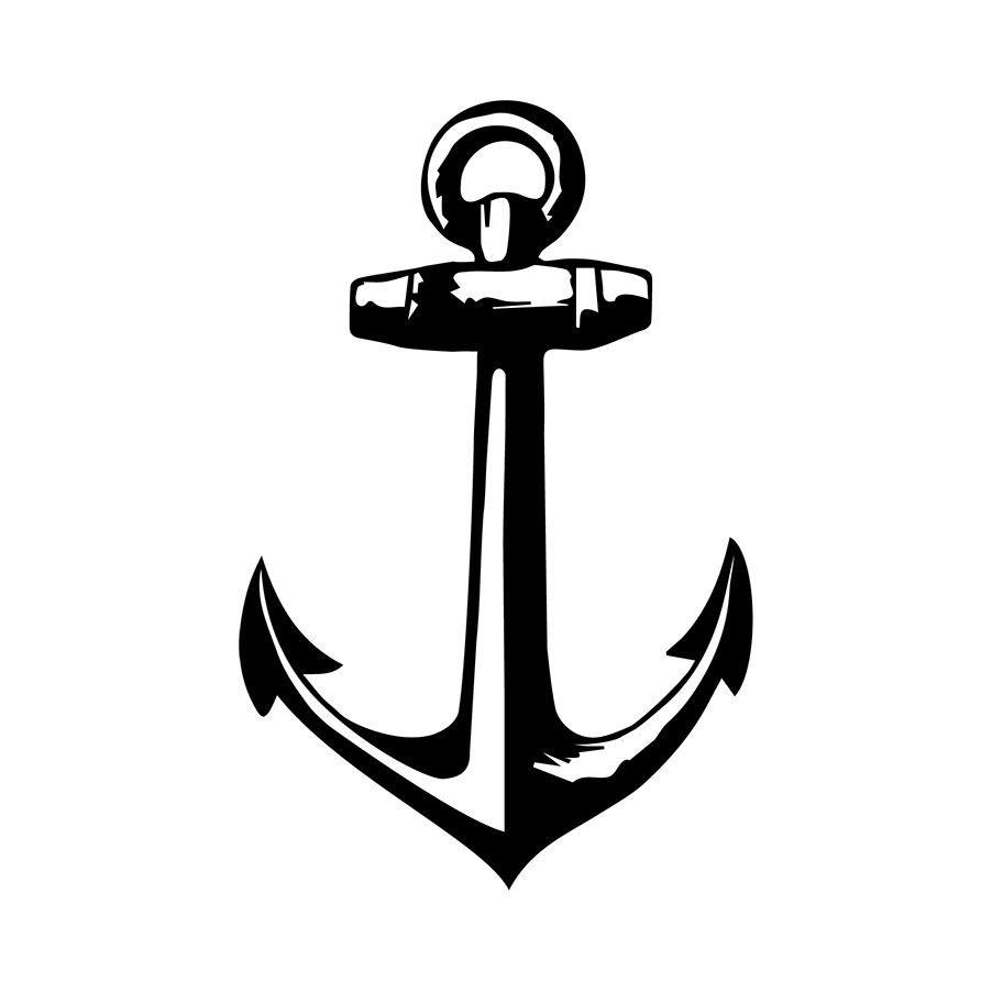 Black anchor clipart clip free library Black and white anchor nautical anchor cliparts free download clip ... clip free library