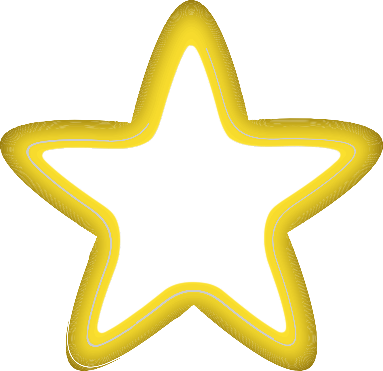 Christmas star clipart black vector black and white download Yellow Star Clipart (40+) Desktop Backgrounds vector black and white download