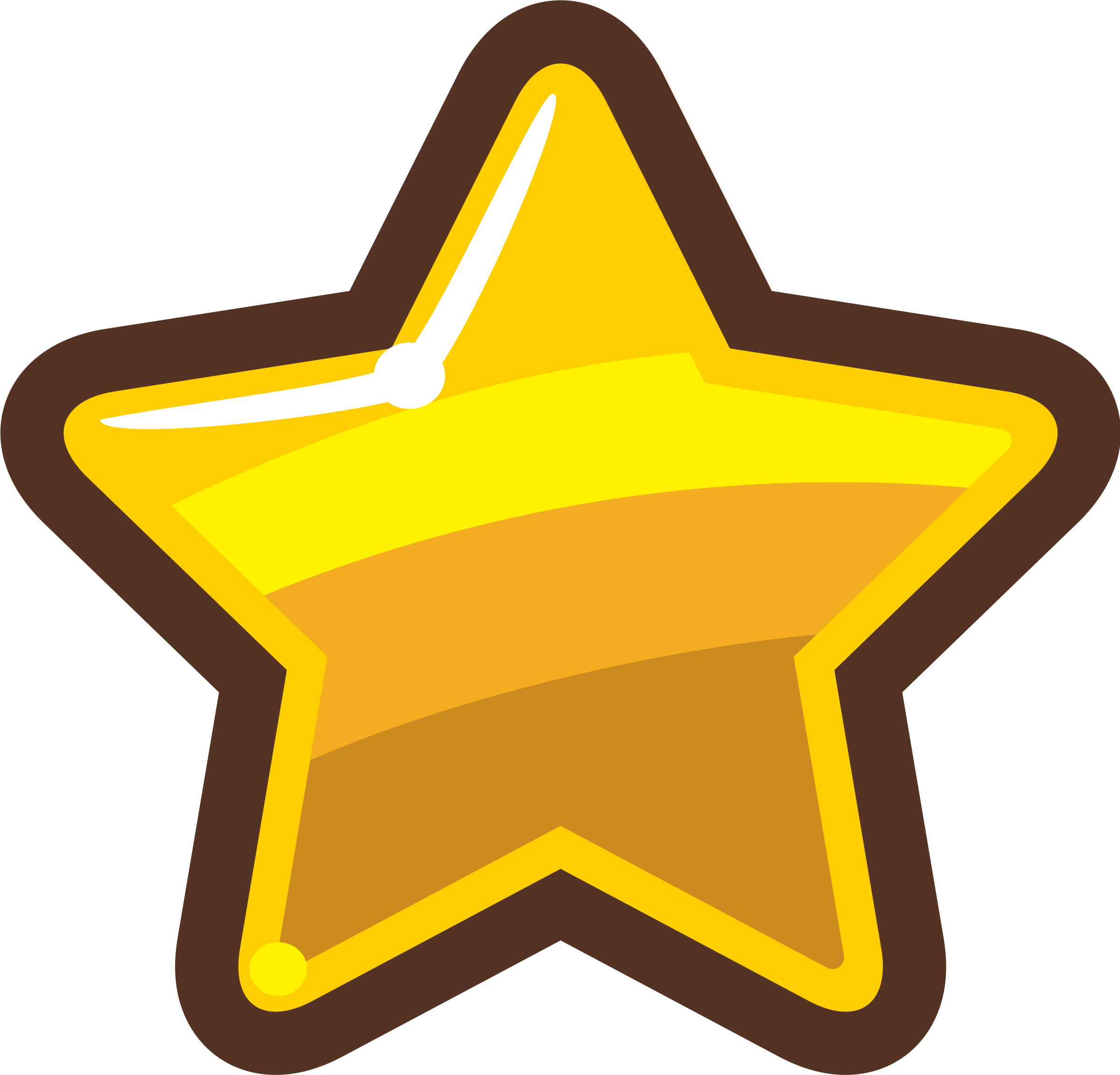 Star cartoon clipart clipart library library Cartoon Gold Star Icons PNG - Free PNG and Icons Downloads clipart library library