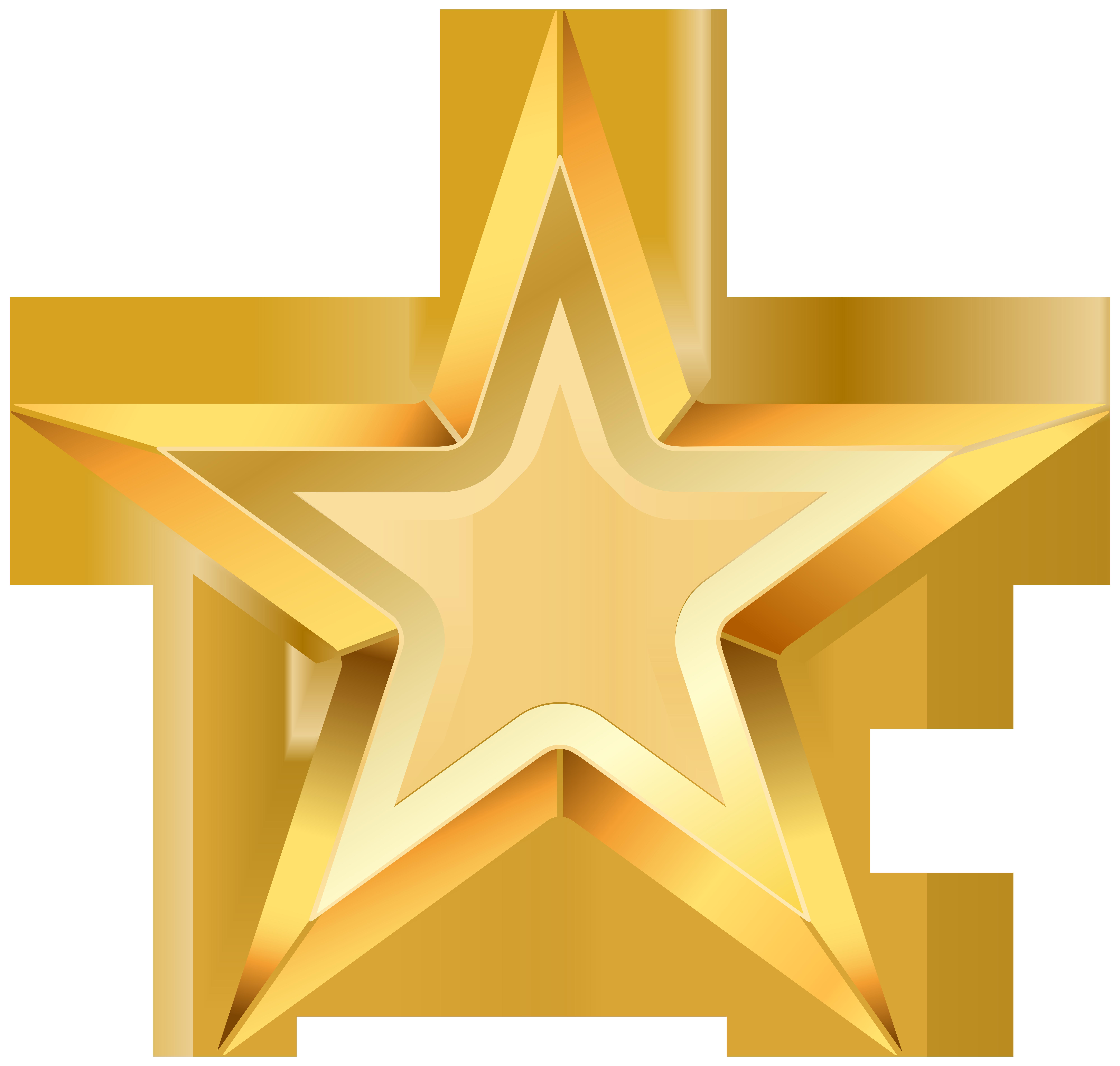 Star Clip art - Gold Star PNG Transparent Clip Art Image 8000*7616 ... clip download