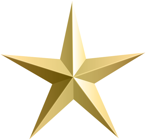 Gold glitter star clipart png transparent download Gold Star Transparent PNG Clip Art | Starry | Pinterest | Clip art ... png transparent download