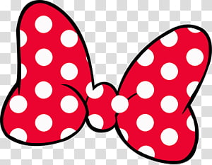 Red white and black polka dot ribbon clipart picture black and white stock Red and white polka-dots ribbon , Minnie Mouse Mickey Mouse T-shirt ... picture black and white stock