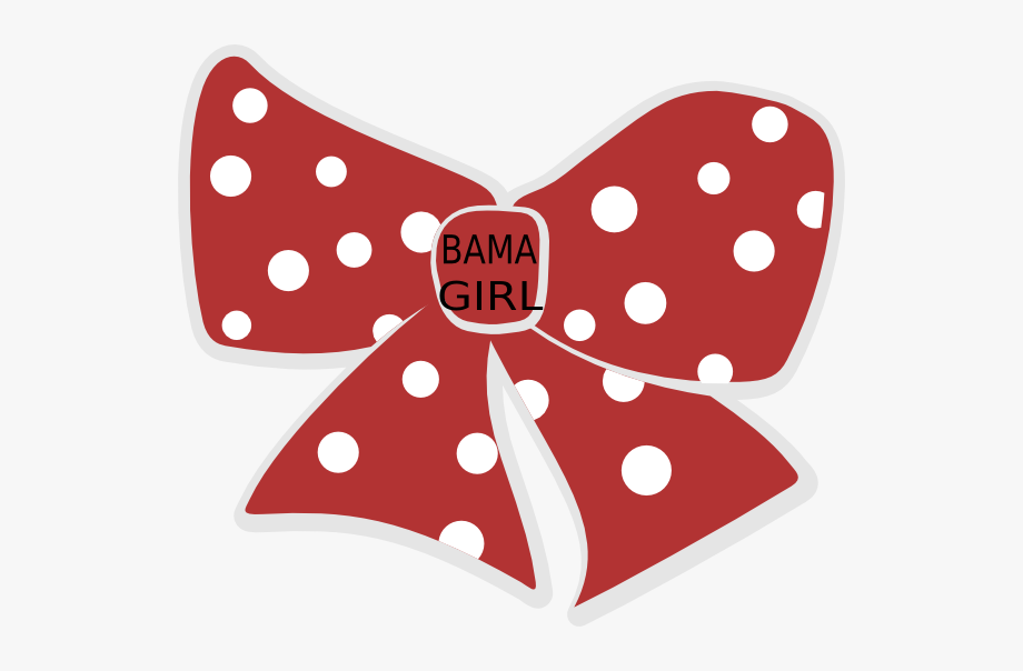 Red Polka Dot Bow Clip Art #1142032 - Free Cliparts on ClipartWiki image free download