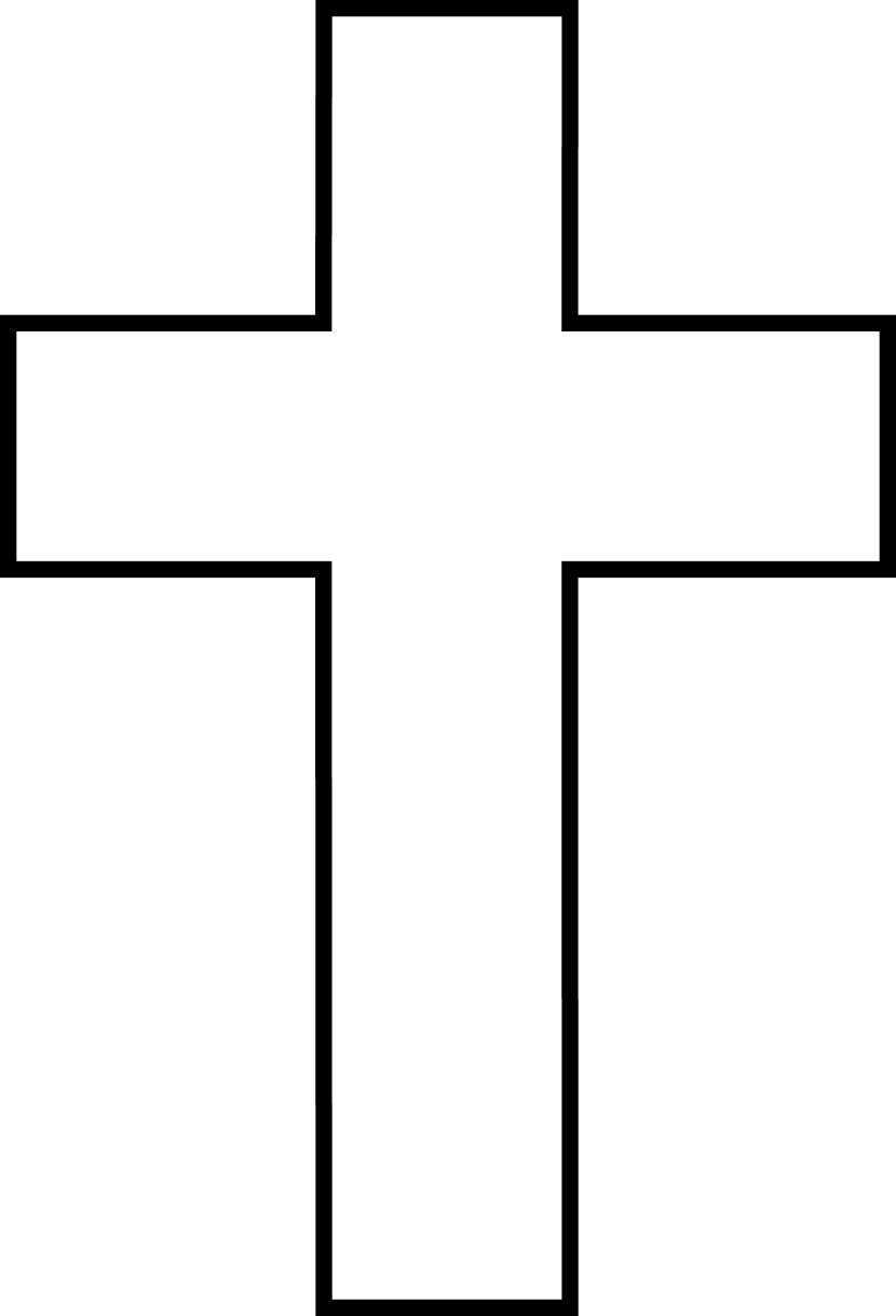Black and white 3 cross clipart jpg transparent download Plain Black Cross Clip Art (72+) jpg transparent download