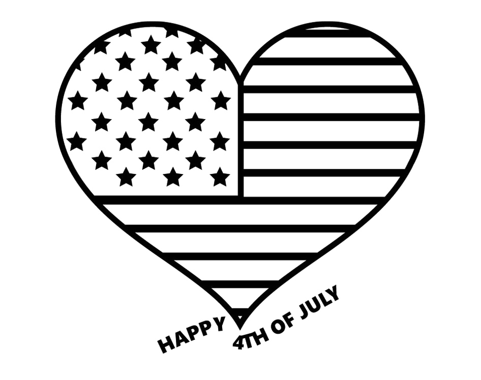 Black and white 4th of july clipart image freeuse download Free 4Th Of July Black And White Clipart, Download Free Clip Art ... image freeuse download