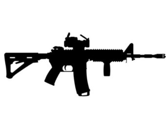 Free AR-15 Cliparts, Download Free Clip Art, Free Clip Art on ... svg free