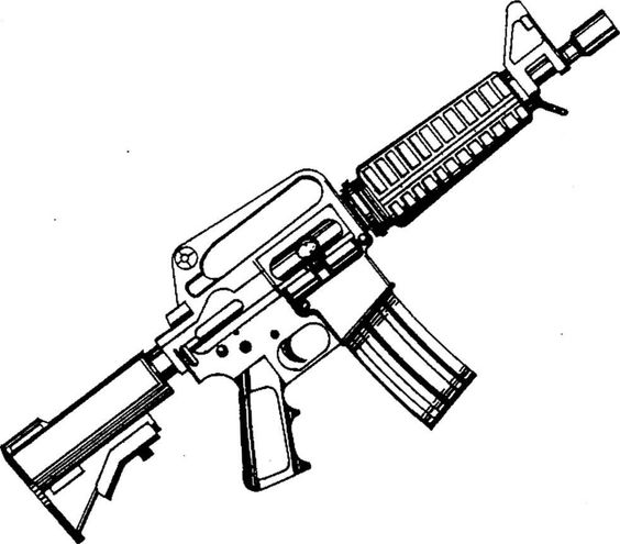 Free AR-15 Cliparts, Download Free Clip Art, Free Clip Art on ... clip freeuse library