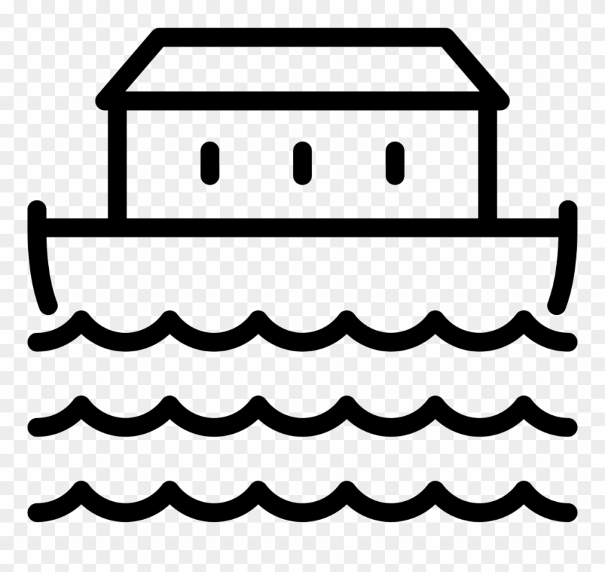 Black and white ark clipart graphic library library Vector Library Download Noah Png Black And White Transparent ... graphic library library