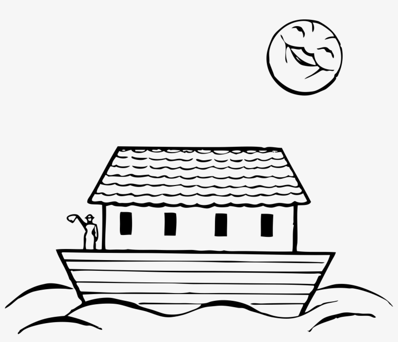 Black and white ark clipart picture freeuse Transparent Stock Noahs Png Black And White Transparent - Noahs Ark ... picture freeuse