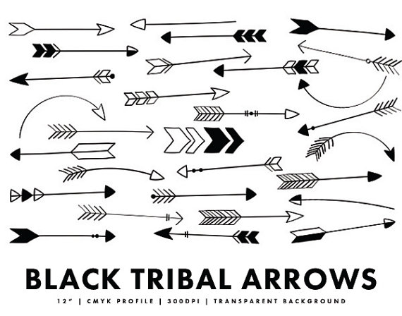 Black and white arrow clipart - ClipartFest picture library download
