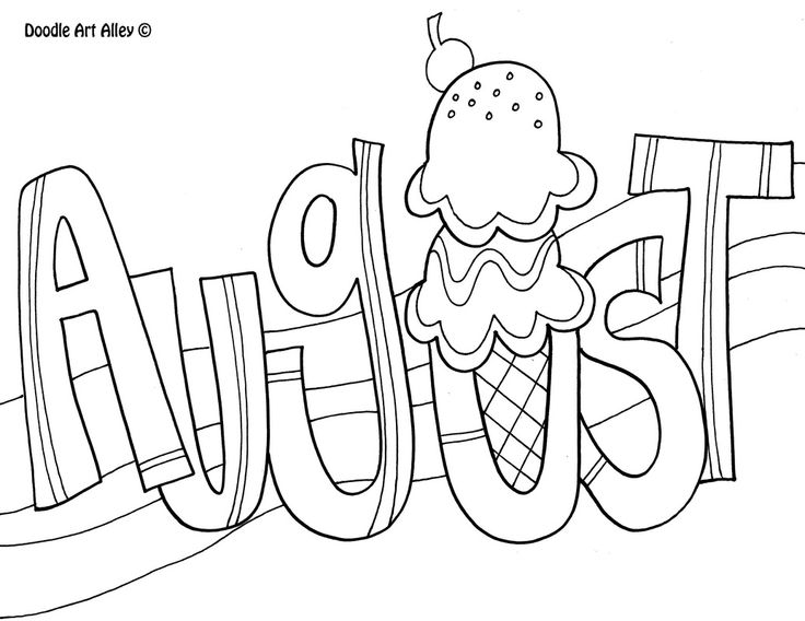 August clipart black and white, August black and white Transparent ... svg black and white