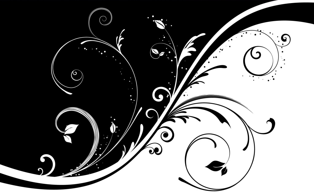 Black and white wallpaper clipart banner free download Free Black And White Flower Pics, Download Free Clip Art, Free Clip ... banner free download