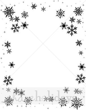 Black and white clipart backgrounds svg black and white stock snowflake clipart | Black Snowflake Background | Snow Backgrounds ... svg black and white stock