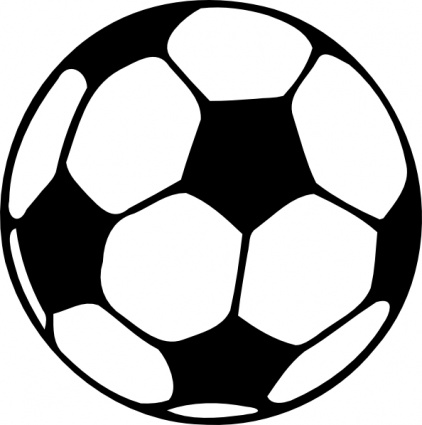 Football thread black and white clipart vector clip freeuse library Ball Clipart Black And White | Clipart Panda - Free Clipart Images clip freeuse library