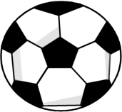 Black and white ball clipart my cute graphics banner freeuse download Soccer Ball Clip Art - Soccer Ball Image banner freeuse download