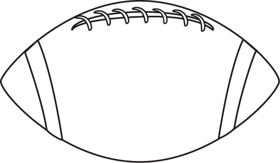 Black and white ball clipart my cute graphics banner black and white Football Clip Art - Football Images banner black and white