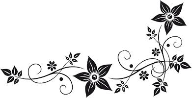 Plants decoration acents clipart black and white vector transparent stock decorative border design - Google Search | ClipArt!! (: | Decorative ... vector transparent stock