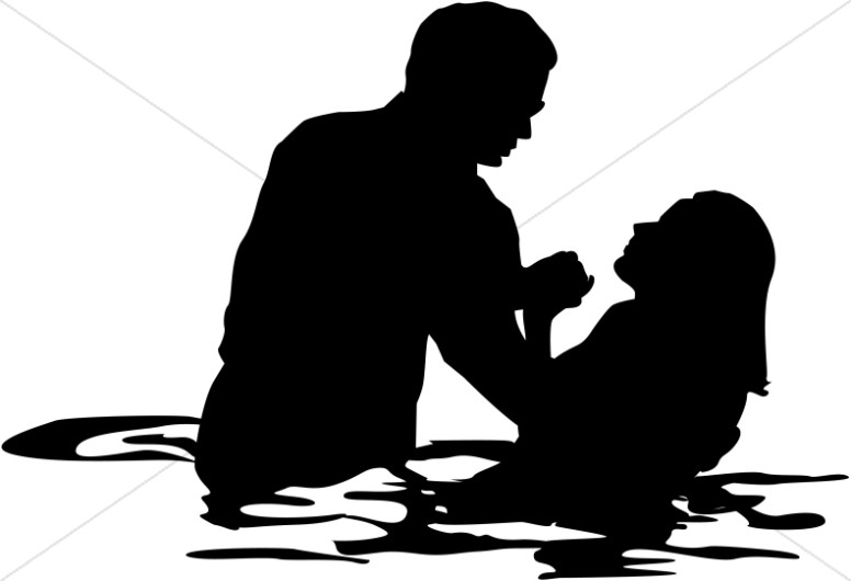 Clipart of water baptism