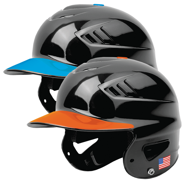 Black and white baseball helmet clipart graphic free BATTERS HELMET VISOR DECALS   Pro-Tuff Decals   Baseball graphic free