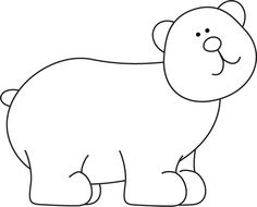 Black and white bear clipart picture transparent stock Black and White Bear Clip Art | Clipart Panda - Free Clipart Images picture transparent stock