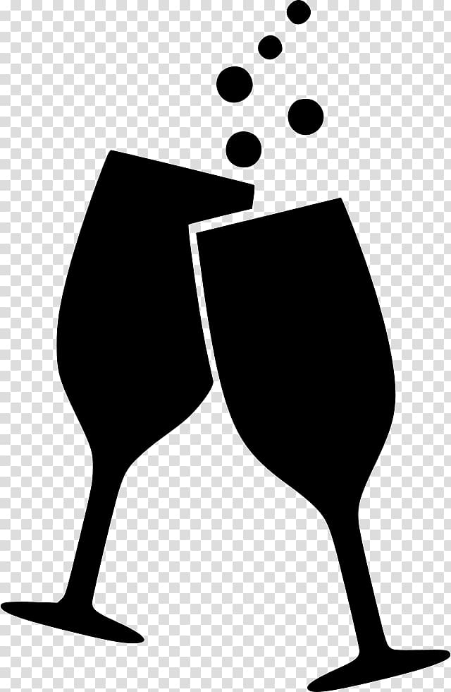Beer mug toast black and white siloette clipart vector download Two champagne flutes illustration, Wine glass Alcoholic drink Beer ... vector download