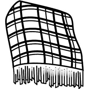 Tie blanket clipart vector transparent download Blanket Png Black And White & Free Blanket Black And White.png ... vector transparent download