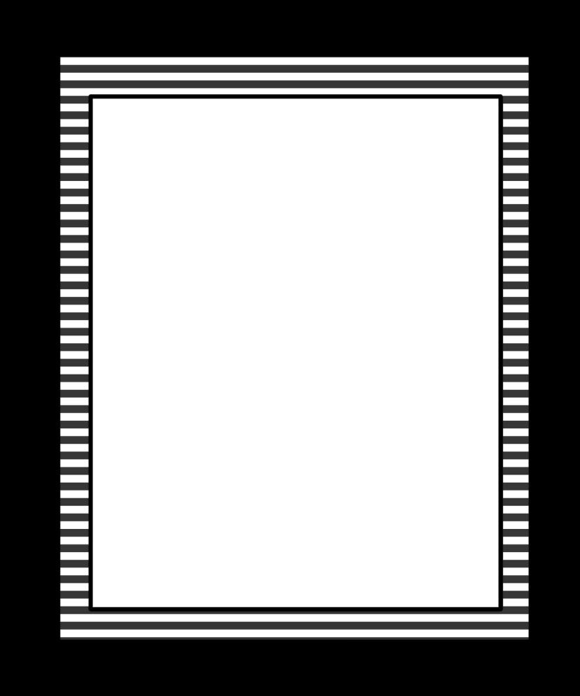 White border on black clipart graphic transparent stock 10+ Black And White Border Clip Art | ClipartLook graphic transparent stock