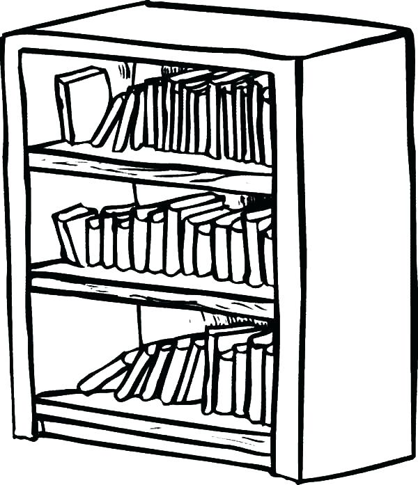 Black and white bookcase clipart image transparent library black and white bookcase – kairasi.co image transparent library