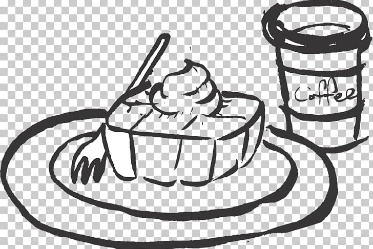 Black and white bread with coffee clipart png transparent Black And White Coffee Drawing Hamburger PNG, Clipart, Art, Artwork ... png transparent