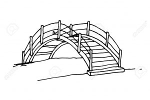 Bridge clipart black and white 3 » Clipart Station clip free library