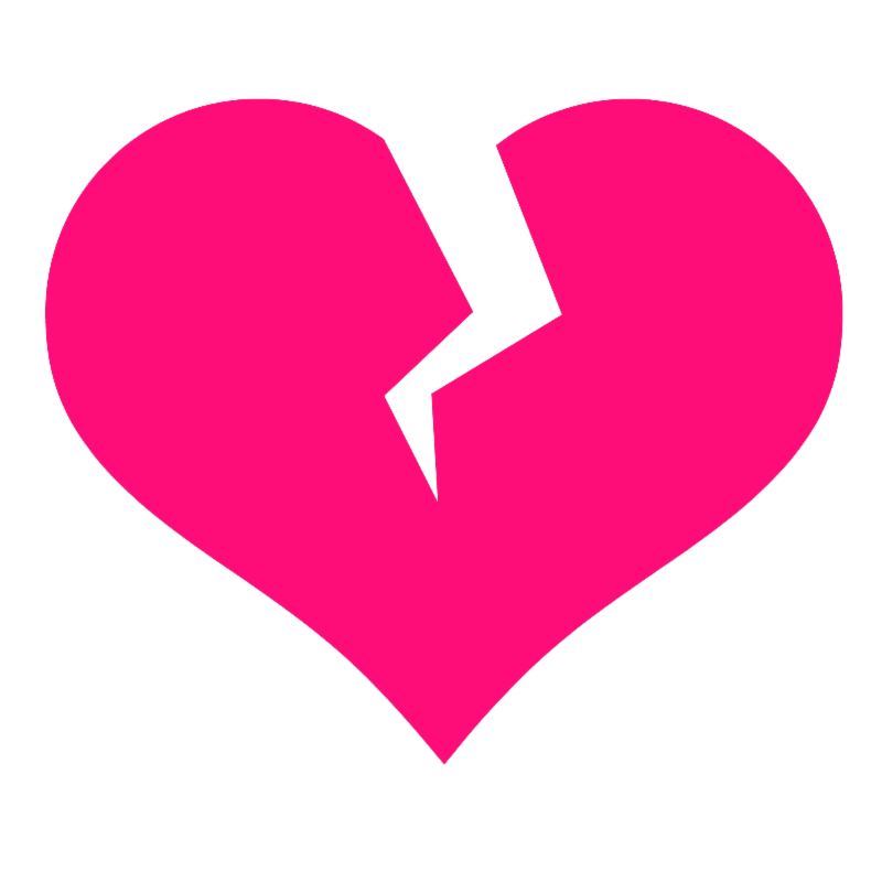 Black and white broken heart clipart transparent download Broken heart clipart images image #33714 transparent download