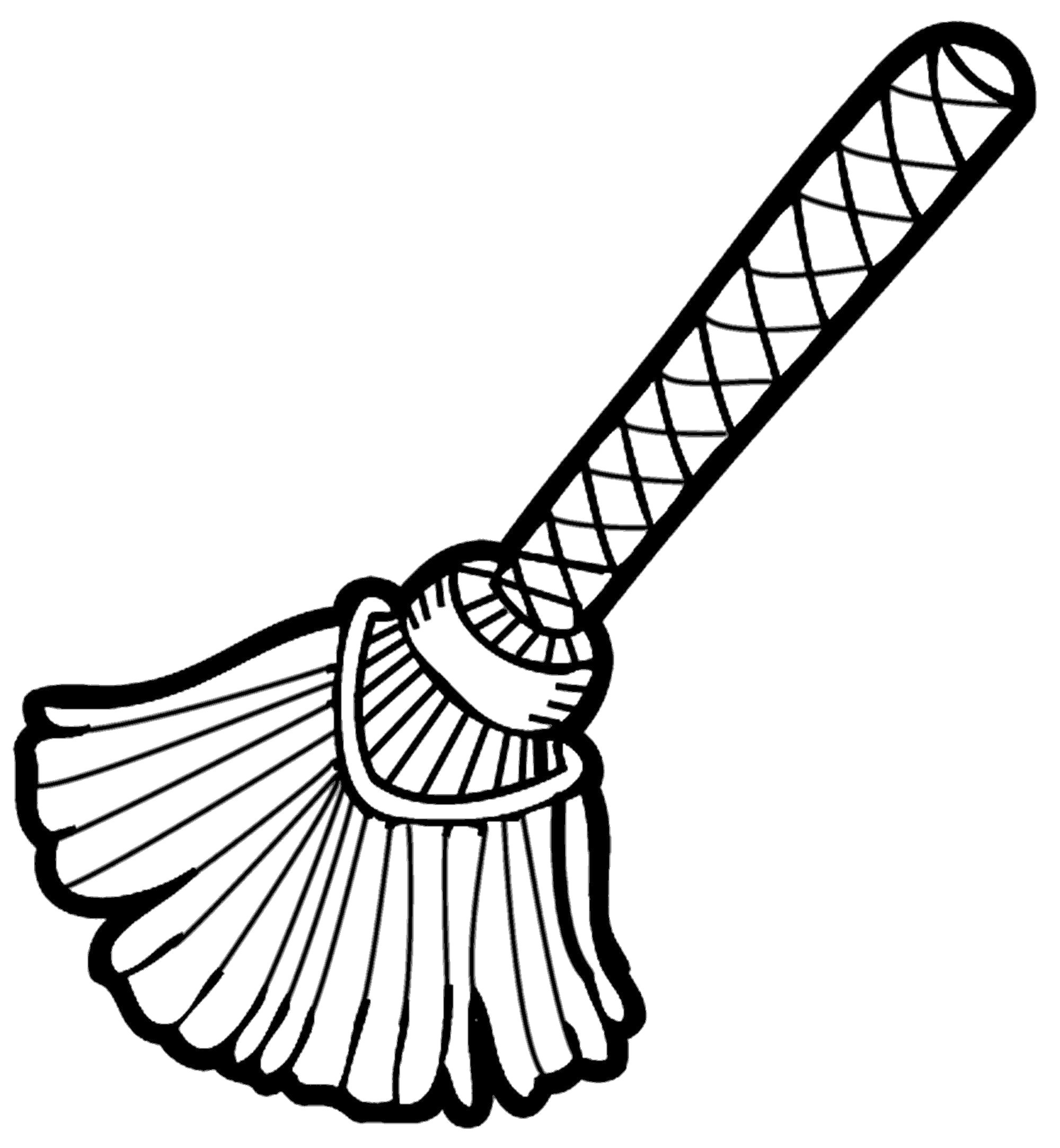 Black and white broom clipart banner download Broom black and white clipart 6 » Clipart Station banner download