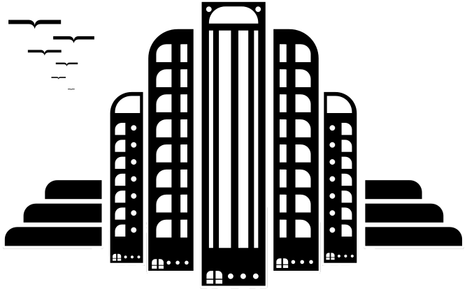 Black and white buildings clipart banner black and white Building Png Black And White Free & Free Building Black And White ... banner black and white