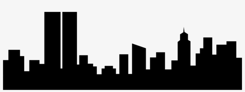 Black and white buildings clipart image transparent download Skyscraper Clipart Transparent - Black And White Buildings Clipart ... image transparent download