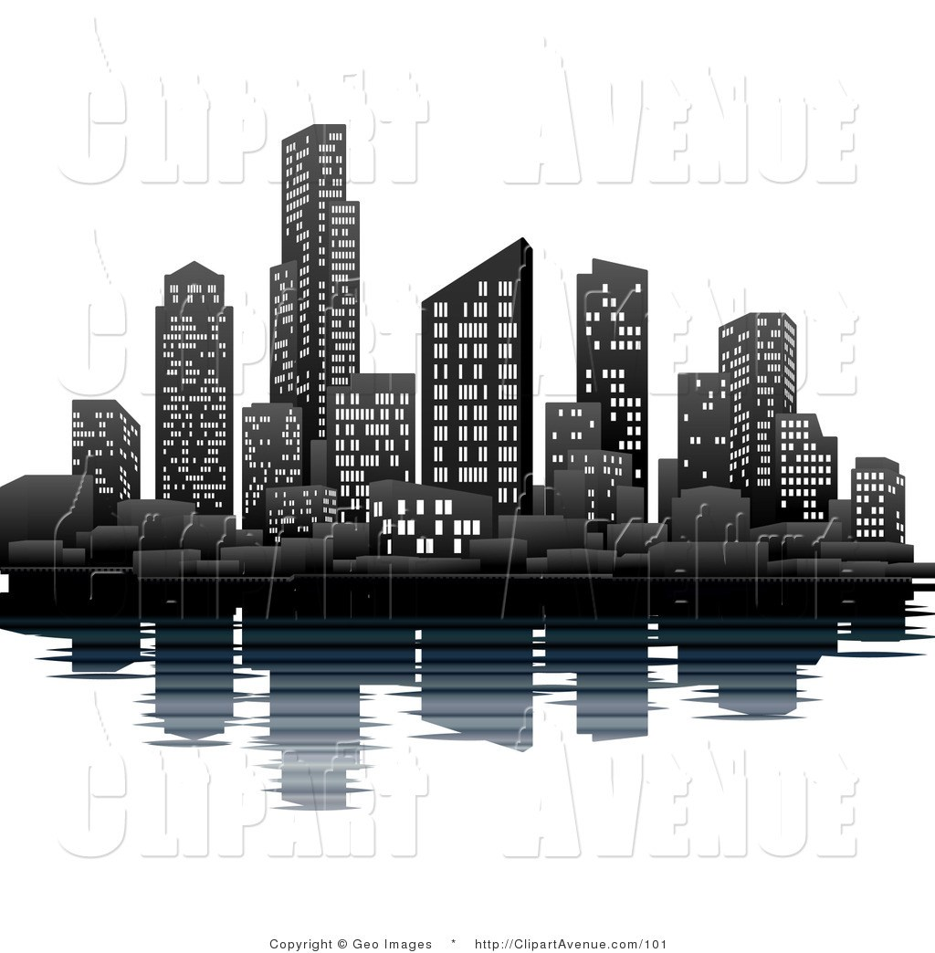 Black and white buildings clipart picture royalty free library Black and white buildings clipart 4 » Clipart Portal picture royalty free library