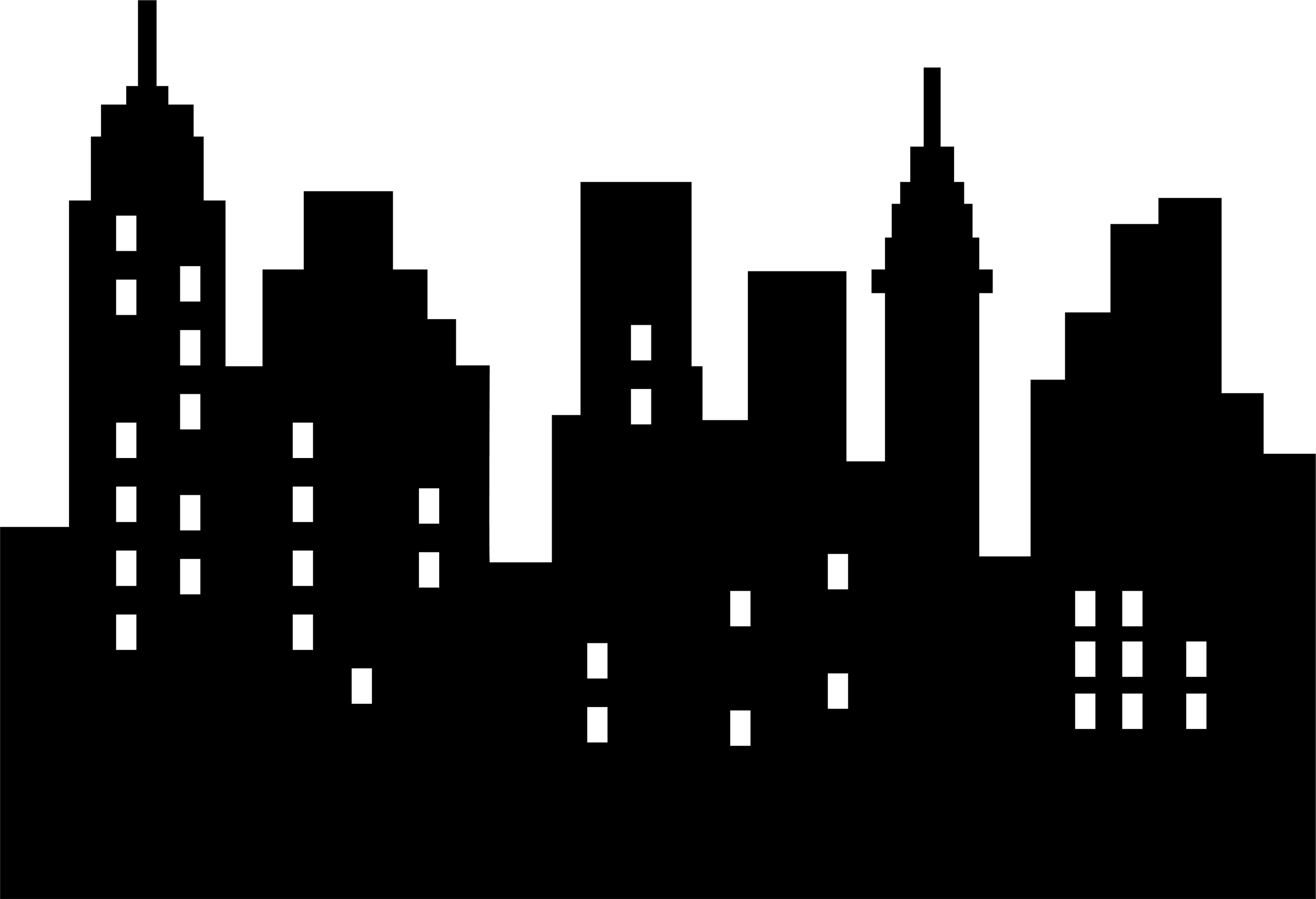 City clipart black and white png jpg free Free White Building Cliparts, Download Free Clip Art, Free Clip Art ... jpg free