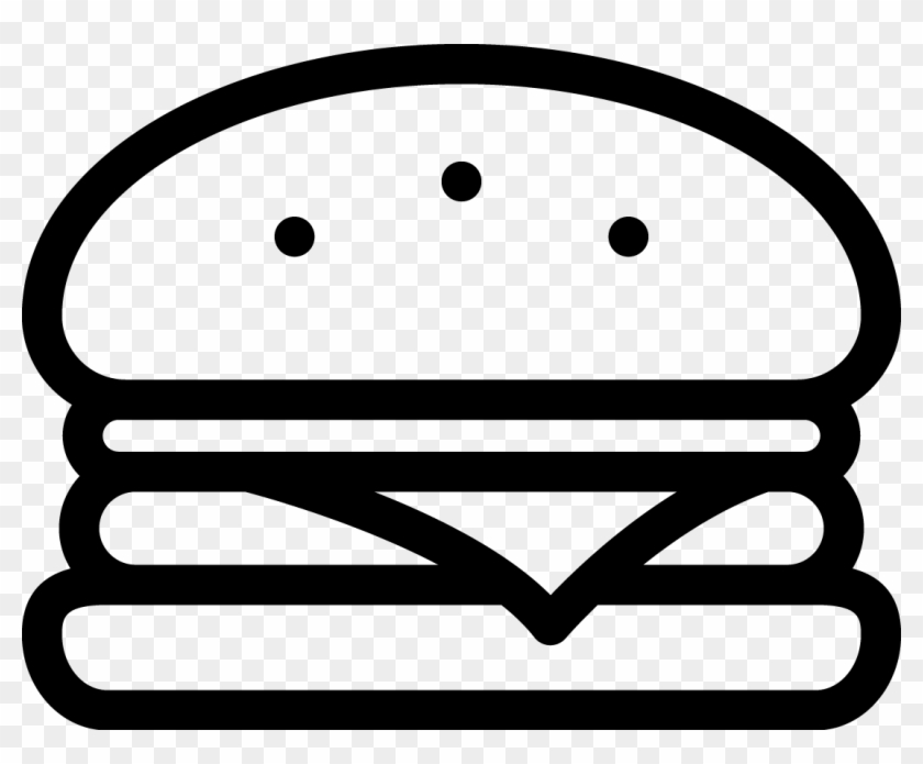Black and white burger clipart svg black and white library Burgerler - Black And White Burger Clipart, HD Png Download ... svg black and white library