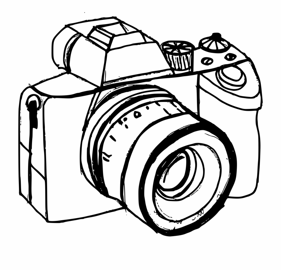 Transparent background camera png clipart clip transparent stock Old Camera Png - Camera Drawing Transparent Background Free PNG ... clip transparent stock