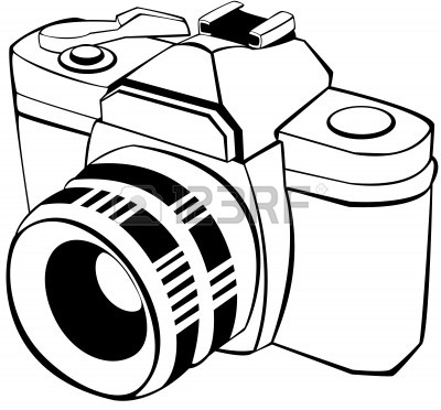 Camera white clipart png freeuse download Black And White Camera Clipart | Free download best Black And White ... png freeuse download