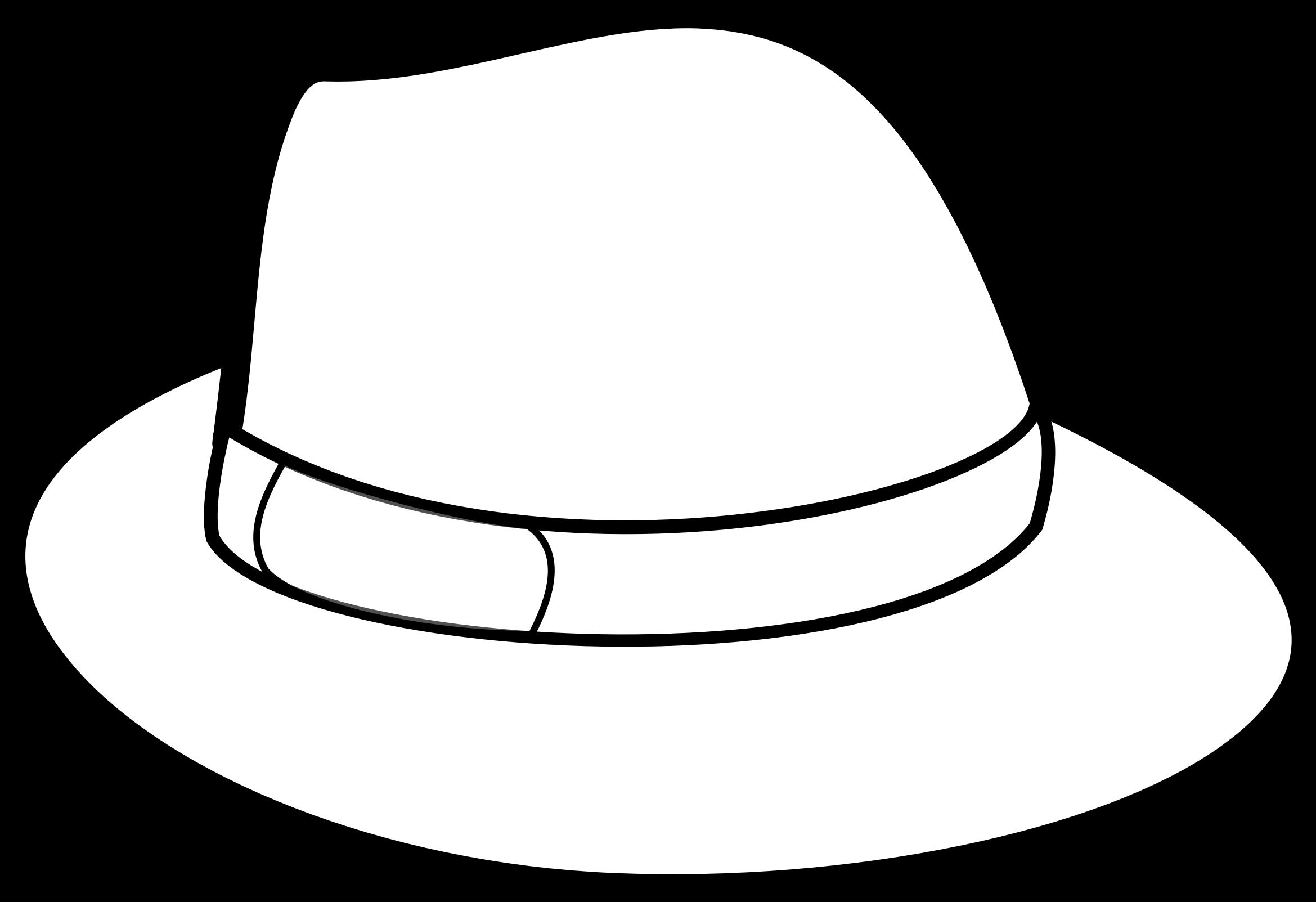 Black and white cartoon baseball cap clipart jpg royalty free library Cartoon Hat (54+) jpg royalty free library