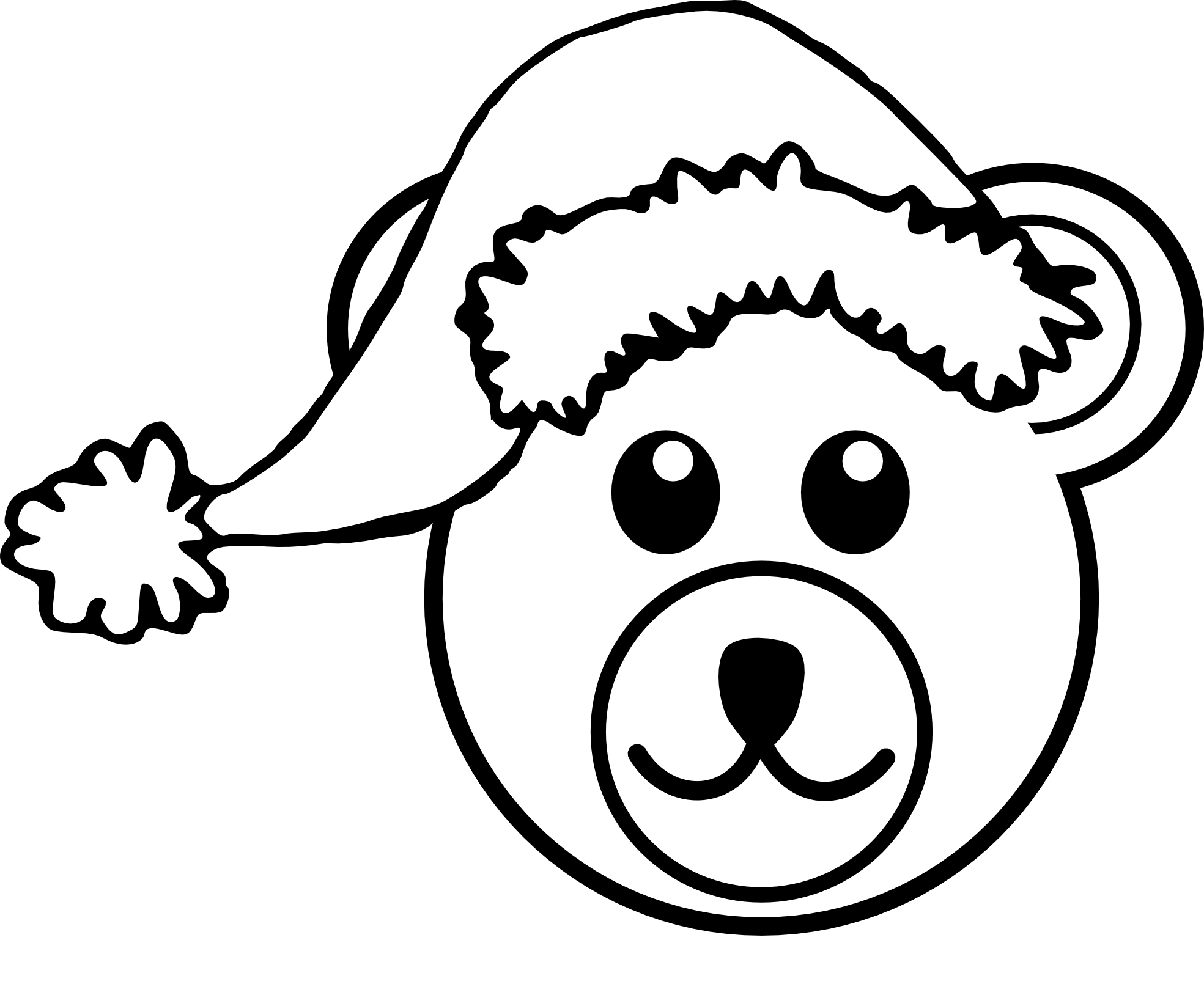 Dog barking clipart black and white graphic download Pirate Hat Clipart Black And White | Clipart Panda - Free Clipart Images graphic download