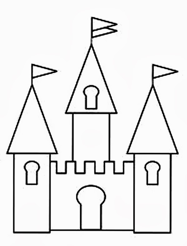 Black and white castle clipart picture royalty free library Free Castle Black Cliparts, Download Free Clip Art, Free Clip Art on ... picture royalty free library