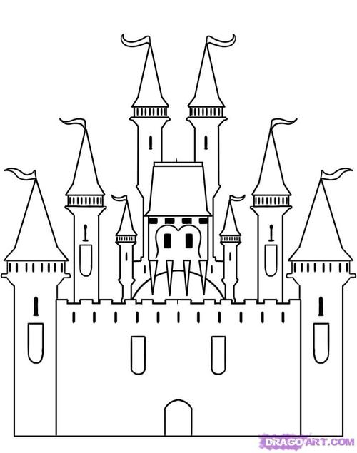 Black and white castle clipart jpg black and white download Castle clipart black and white » Clipart Station jpg black and white download