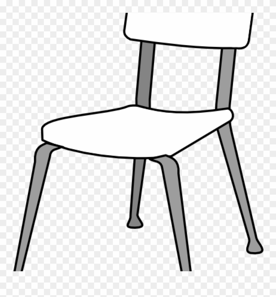 Black and white clipart chair jpg free library School Chair Clipart White Classroom Chair Clip Art - Chair Clipart ... jpg free library